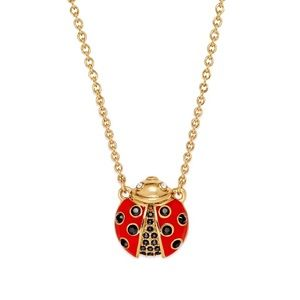 KATE SPADE • Friendly Insects Ladybug Necklace